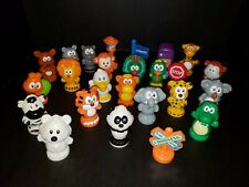 Lot of 25 VTech Smartville Replacement animals signs rail crossing garbage K