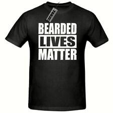 Bearded Lives Matter t shirt, Mens Funny Novelty t shirt, Beard t shirt,Dad Gift