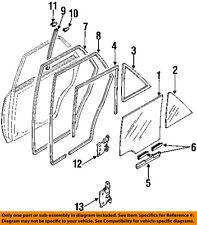 B45773661 Mazda Glasslqtrwindow B45773661