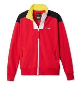 Columbia x Disney Intertrainer Fleece FZ Jacket Red (XL)  AM0498-691 Retail $120