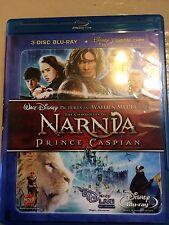 The Chronicles of Narnia Prince Caspian 3 Disc Blu ray