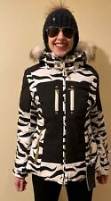 BOGNER NICA WOMEN SKI JACKET SIZES S, M , L, XL WITH FUR HOOD