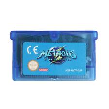 Metroid Fusion  Nintendo GBA Video Game Cartridge Console ENG FRA DEU ESP ITA