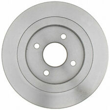 Disc Brake Rotor Rear Parts Plus P680146 fits 02-04 Ford Focus