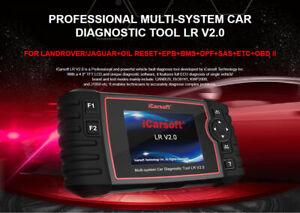 iCarsoft LRv2.0 Multi-system Scanner Jaguar / Land Rover vehicles + OBD II