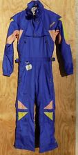 SPYDER SKI SUIT Mens Full Zip Vintage Insulated One Piece Snowboard Medium Med M