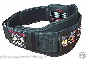 """Gym Weight Lifting 6"""" Wide Neoprene Double Belt for Men Back Lumber Support New"""