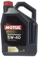 Aceite Motor Motul 8100 PERFORMANCE 5W40, 5 litros  100% sintetico