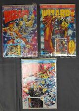 Wizard Comics Magazine #10 June #11 July #12 August 1992 Youngblood Spawn Spidey
