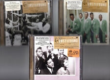 x3 motown cd lost & found four tops smokey robinson the temptations