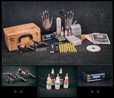 Tattoo Kit Sets full pro Power supply professional  USA INK MACHINES PROMO