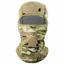 Balaclava Camouflage Full Face Cycling Hunting Helmet Liner Green Brown