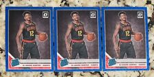 (Lot Of 3) Deandre Hunter RCs! 2019-20 Optic Rated Rookie Blue Velocity Prizm