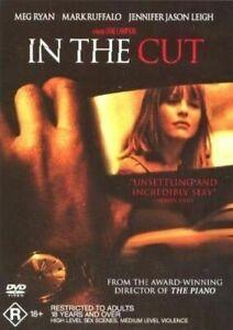 In The Cut DVD Meg Ryan R18+ THRILLER Mystery RARE Region 4