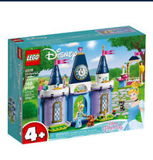 Lego Disney Princess Cinderella's Castle Celebration New Building toy Kit 43178