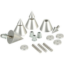 Dayton Audio DSS4-SN Satin Nickel Speaker Spike Set 4 Pcs.