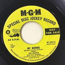 """THE BEATLES """"MY BONNIE/THE SAINTS"""" PROMOTIONAL MGM 45 """"SUPERB"""" MINT/MINT CT2604"""