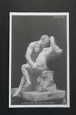 CPA nu féminin sculpture Salon Paris 1904 A. Benoit-Levy - Satyre et Bacchante