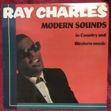 Ray Charles Lp Modern Sounds In Country & Western TESTED EX to NM - Rhino Label