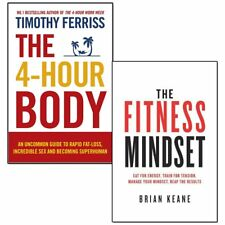4-Hour Body 2 Books Collection Set The Fitness Mindset,An Uncommon Guide NEW UK