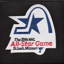 ST. LOUIS BLUES  ALL STAR GAME JERSEY PATCH 1987/88 NHL 39th ALL STAR GAME PATCH