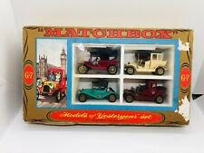 Vintage Matchbox G-7 Matchbox Models of Yesteryear Boxed Set