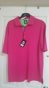 Footjoy Golf Polo Shirt size L *New with tags*