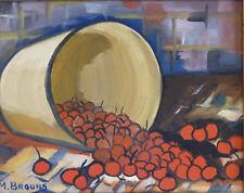 Marcel BROUNS (1920-?) HsP Années 50 Ecole belge Belgische school Expressionnism