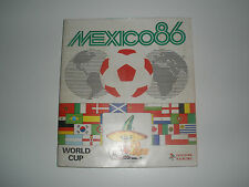 "MANCOLISTE FIGURINE PANINI - MESSICO86-""MEXICO86""- REC.- REMOVED FROM AN ALBUM"