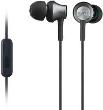 Sony MDR-EX650AP Auriculares con control de latón y housingmicrophone-Negro