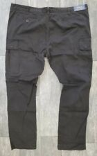 RALPH LAUREN STRETCH SLIM FIT WASHED OUT BLACK CARGO PANTS SIZE 40X32