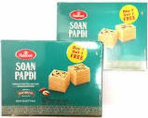 Haldiram's Indian Sweet Premium Soan Papdi 500g Buy 1 Get 1 FREE