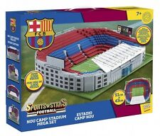 Character Building Sport STELLE Nou Camp STADIUM Mega Set RRP £ 149.99 Nuovo & S...
