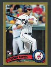 2011 Topps Update Gold Jason Kipnis Rookie Rc #US194 Cleveland Indians 1331/2011