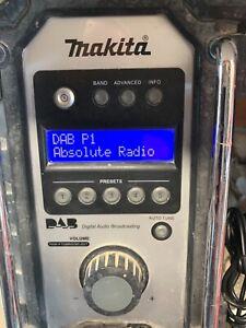 Makita DAB Fm Radio Excellent
