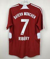 FC BAYERN MUNICH 20072009 HOME FOOTBALL JERSEY TRIKOT SOCCER SHIRT #7 RIBERY