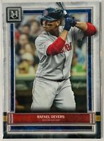 RAFAEL DEVERS 2020 TOPPS MUSEUM COLLECTION BASEBALL CARD #89 BOSTON RED SOX MLB