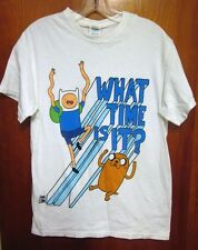 ADVENTURE TIME Finn & Jake med tee Cartoon Network series T shirt Land of Ooo