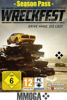 Wreckfest - Season Pass - PC Steam Rennspiel Download Code - DE/Weltweit