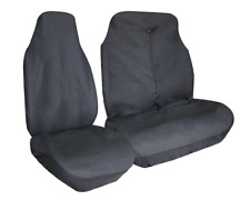 FIAT SCUDO Universal Van Seat Covers Leatherette Black + Free Delivery