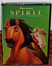 SPIRIT EL CORCEL INDOMABLE DVD NUEVO PRECINTADO ANIMACION (SIN ABRIR) R2