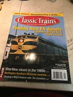 Classic Trains the Golden Years of Railroading Magazine
