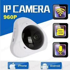 960P 3D VR Wi-Fi Camera 360 Degree Panoramic IP Camera 1.3MP Fisheye Camera