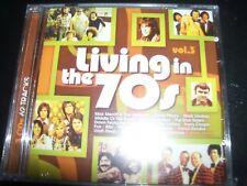 Living In The 70s - Volume 3 Various CD NEW (Eric Burdon ELO Uriah Heap Sherbe)