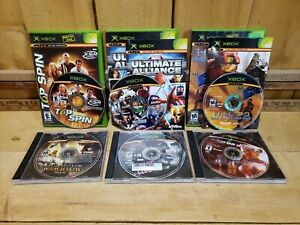 Lot of 6 XBox Live Games -Marvel Ultimate Alliance, Fight Club, Halo 2 Maps ETC.