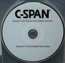GERALD R. FORD Presidential Library DVD C-Span 2007 documentary Mr. Nice Guy