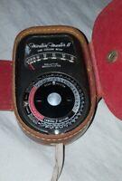 Weston Master II Universal Exposure Meter Model 736