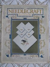 NEEDLECRAFT HOME ARTS MAGAZINE  Pattern Knit Embroidery Crochet Craft Feb 1926