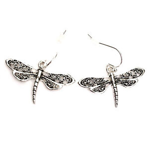Gothic Punk Emo Indie Rock 80s 90s 2000s Dragon Fly Dragonfly Earrings Ear Rings