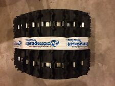 "New Composit T32 snowmobile track 128 X 15 X 1.25"" Lug Fully Clipped"